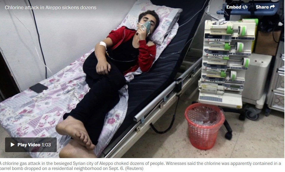 """""""Destroyed"""" And """"Collapsed"""" Al-Quds Hospital In East-Aleppo Receives 46 Patients"""