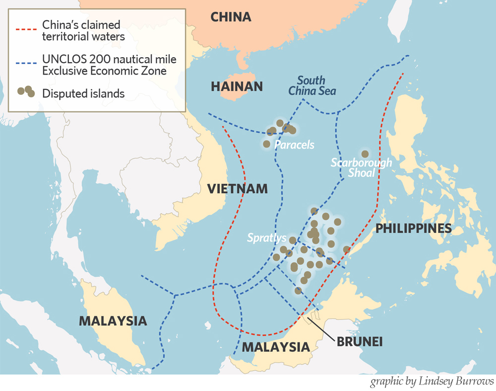 The Most Explosive Place in the East - What Is Happening in the South China Sea?