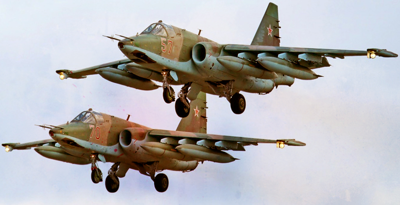 Large Group of Russian Fighter-Bombers Is Ready to Be Sent to Syria