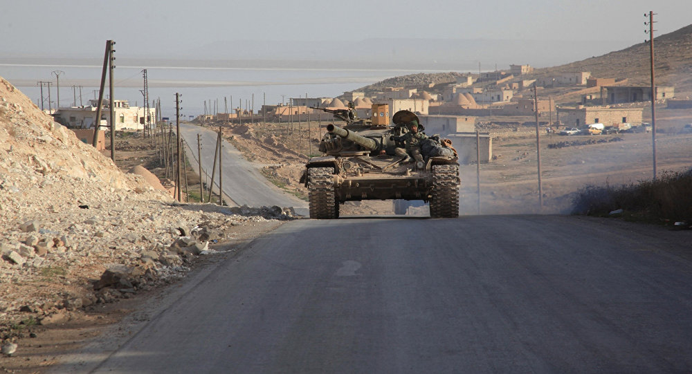 Militants Cut Important Highway in Homs, Syrian Army Fights Back