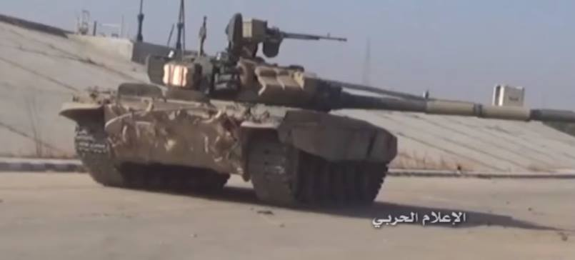 Russian Airstrikes Propel the Syrian Army in Old Aleppo