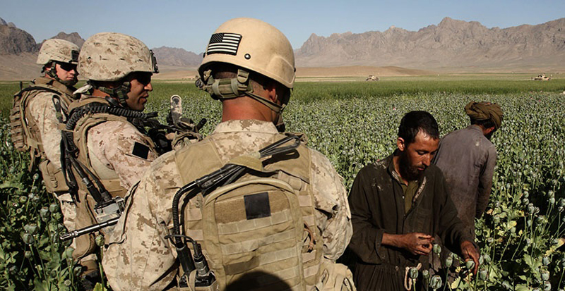 US Abetted Drug Traffic from Afghanistan to Russia, Europe & China