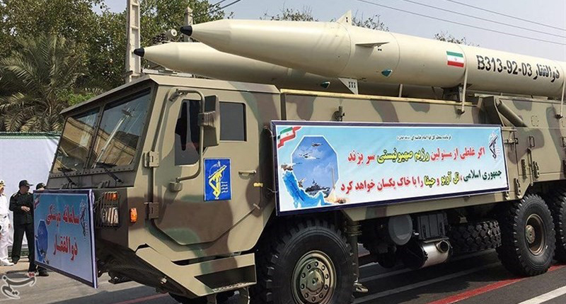 Iran to Supply IRGC with Large Number of Zolfaqar Missiles
