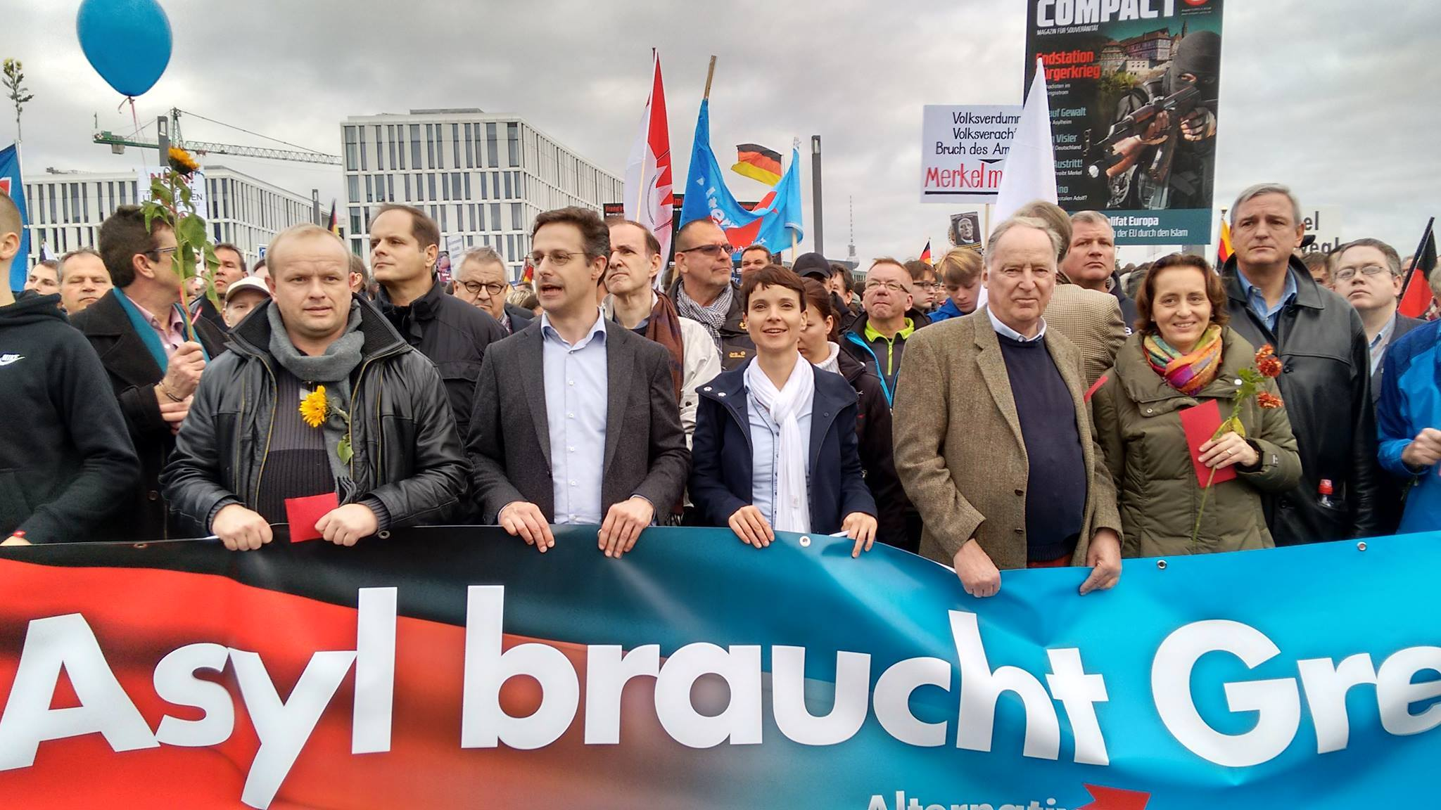 The German Anti-Immigrant AfD Party Is On The Rise