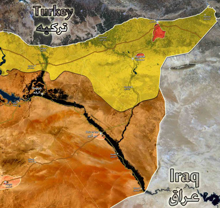 """Deir Ezzor Attack Enables The """"Salafist Principality"""" As Foreseen In The 2012 DIA Analysis"""