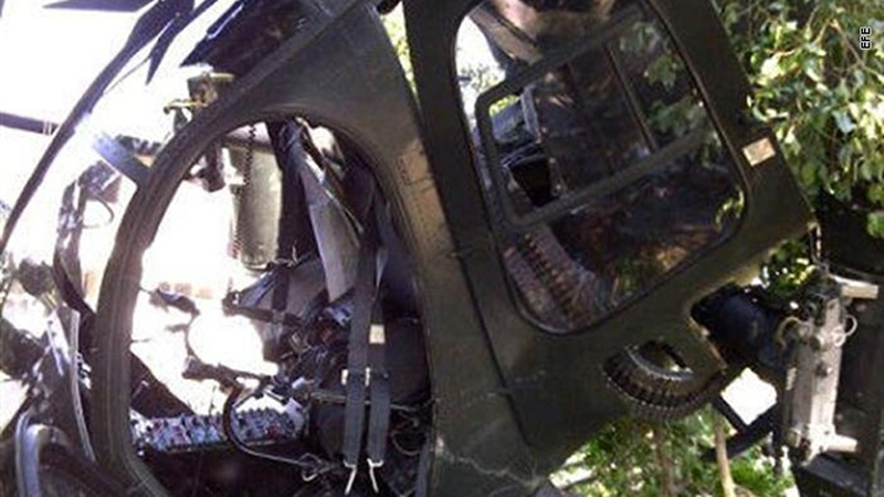 Police Helicopter Shot Down During Raid on Mexican Cartel