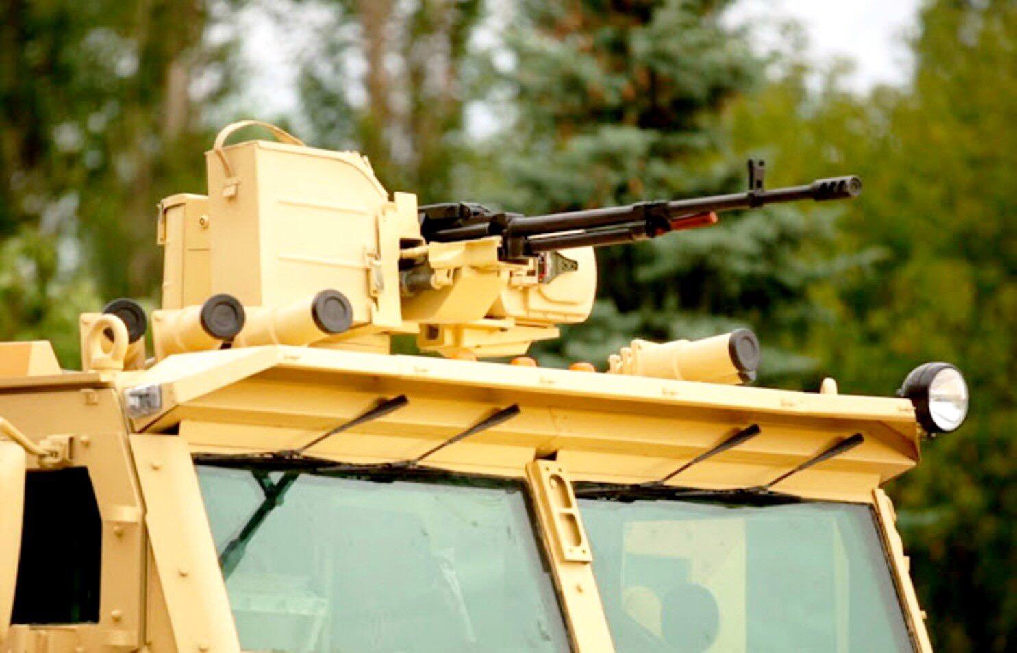 Secret Spy Photos of Floks Self-Propelled Artillery Platform Published Online
