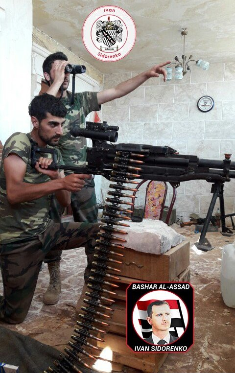 Kord Machine Guns Are Extensively Used During Street Battles in Syria (Photos)