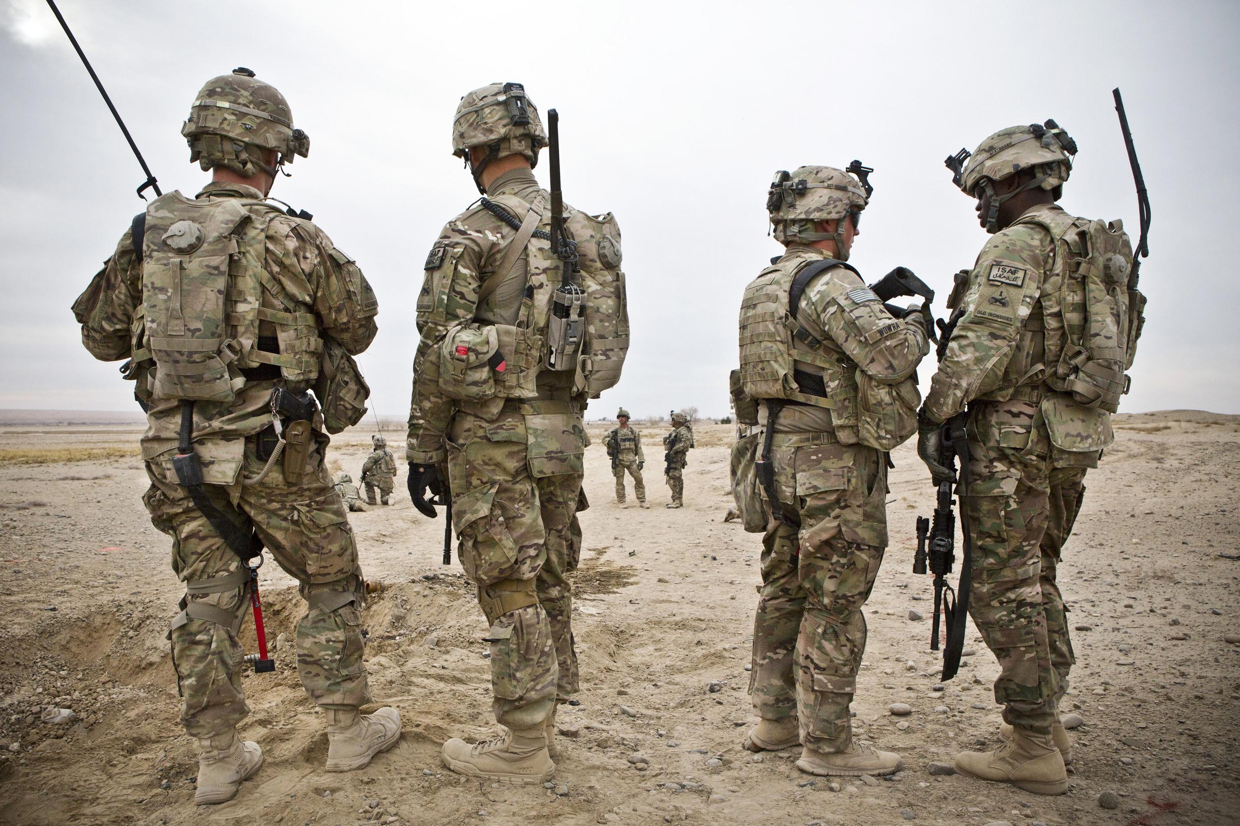200 U.S. Troops Arrived Ayn Ayn al-Asad Air Base in Western Iraq