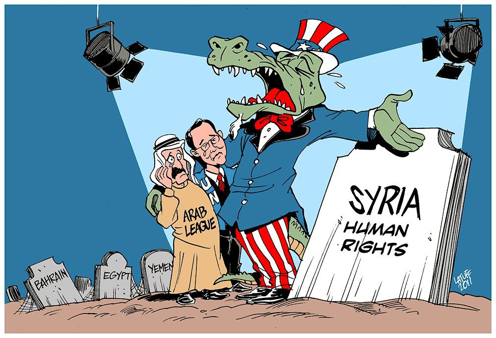Syria: The U.S. Propaganda Shams Now Openly Fail