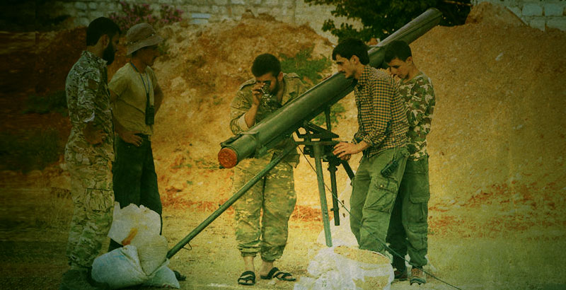 Foreign States Supply Syrian 'Moderate' Opposition with New Rocket Launchers in Response to Syrian-Russian Operation in Aleppo