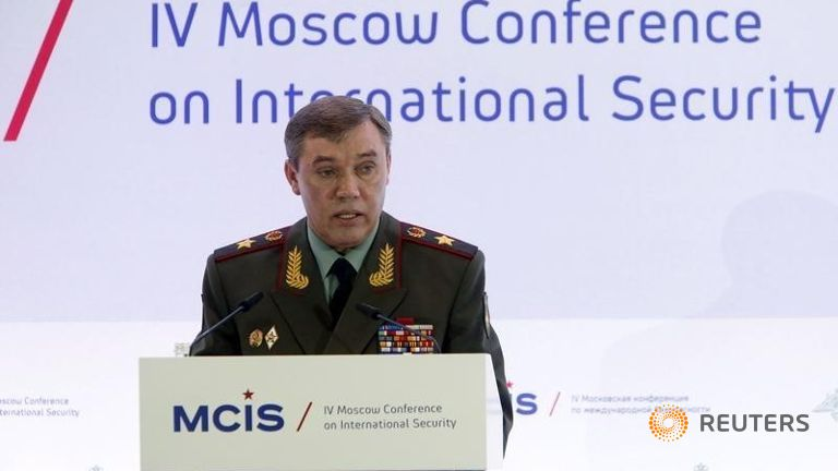 Russian Armed Forces Chief Visiting Turkey
