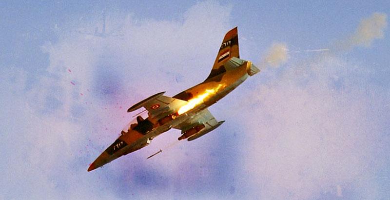 Syrian Air Force Launches Massive Air Raids on Terrorists across Deir ez-Zor & Idlib Provinces