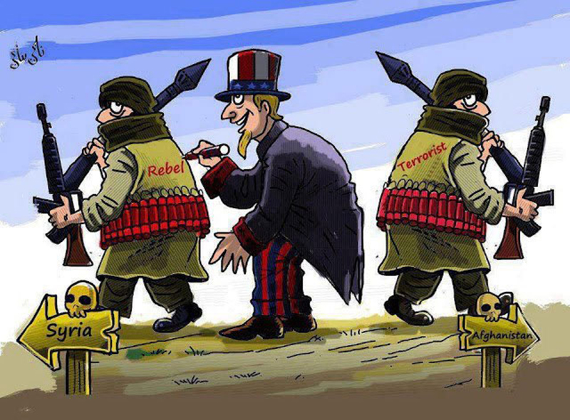 The USA Is the Main Sponsor of International Terrorism?