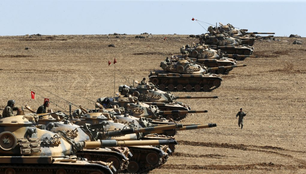 Turkey Sends Additional Tanks & Armored Vehicles in Syria