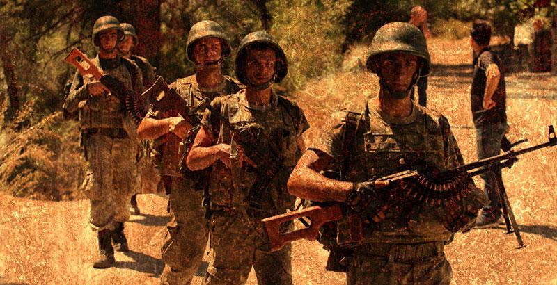 Turkish Army Opens Heavy Fire on Kurdish Fighters at North of Raqqa