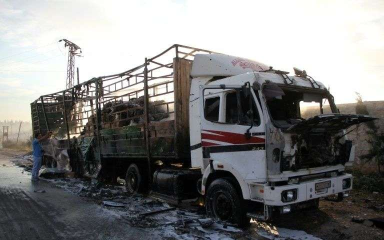 UN Removes Charges Against Russia & Syria Regarding Air Strike on Humanitarian Convoy in Syria