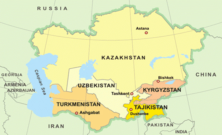 Uzbekistan lies in the center of Central Asia, and along the East-West transit corridor between China and Europe.
