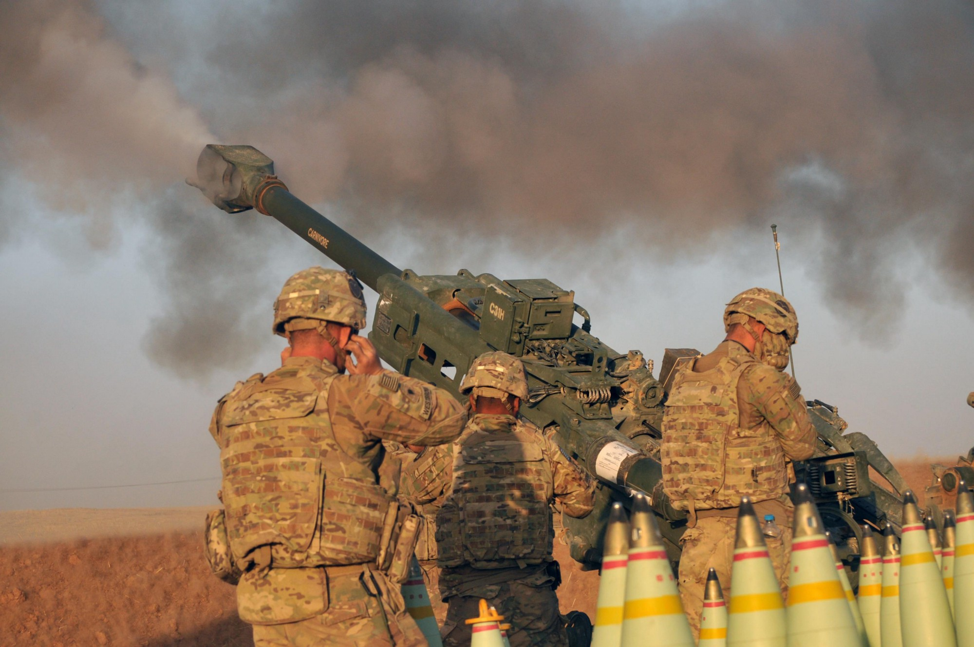 PR & Reality of US Military Operation in Mosul