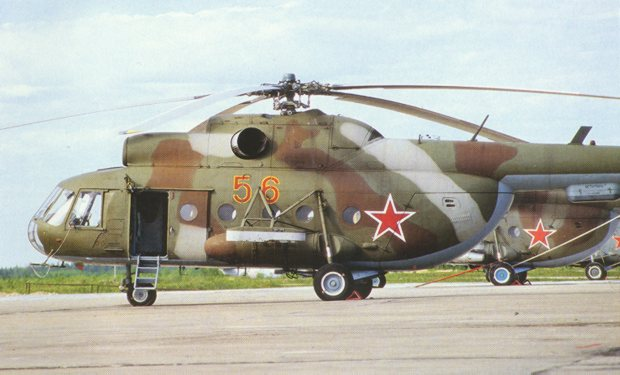 Russian humanitarian helicopter attacked by ISIS en route to Hama