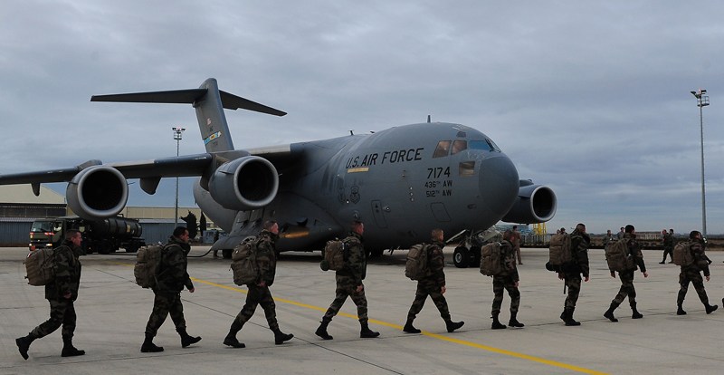 US Fighter Jets & Troops Deployed in East Africa Since July