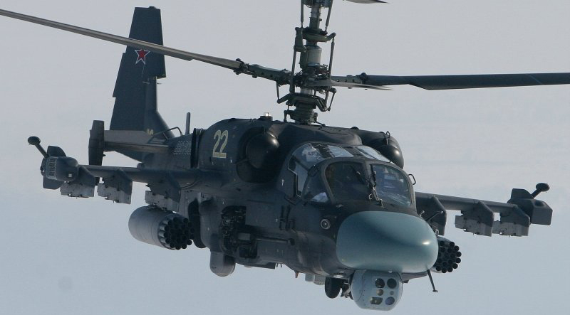 Russian Helicopters to Use Advance Long Range Missiles against Terrorists in Syria