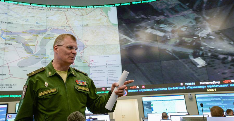 Russian Defense Ministry: ISIS Captured Parts of Iraq & Syria Thanks to US Tireless Activity