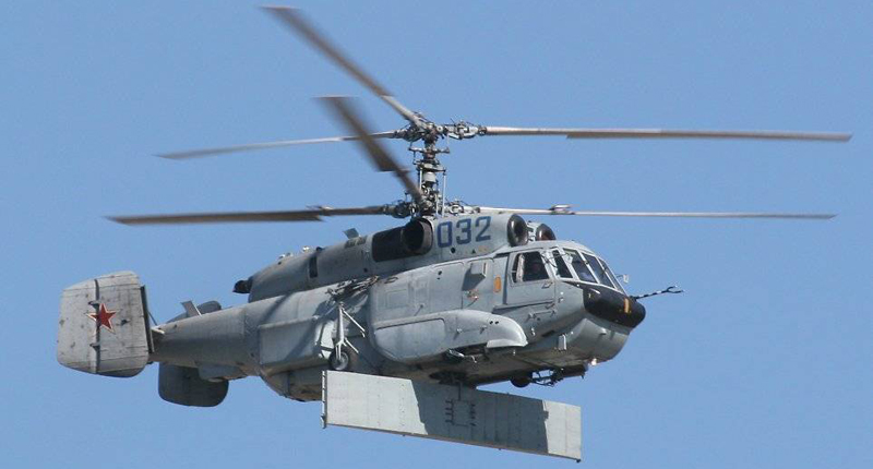 Western Media: Ka-35 spotted in Syria - Putin's terrifying weapon