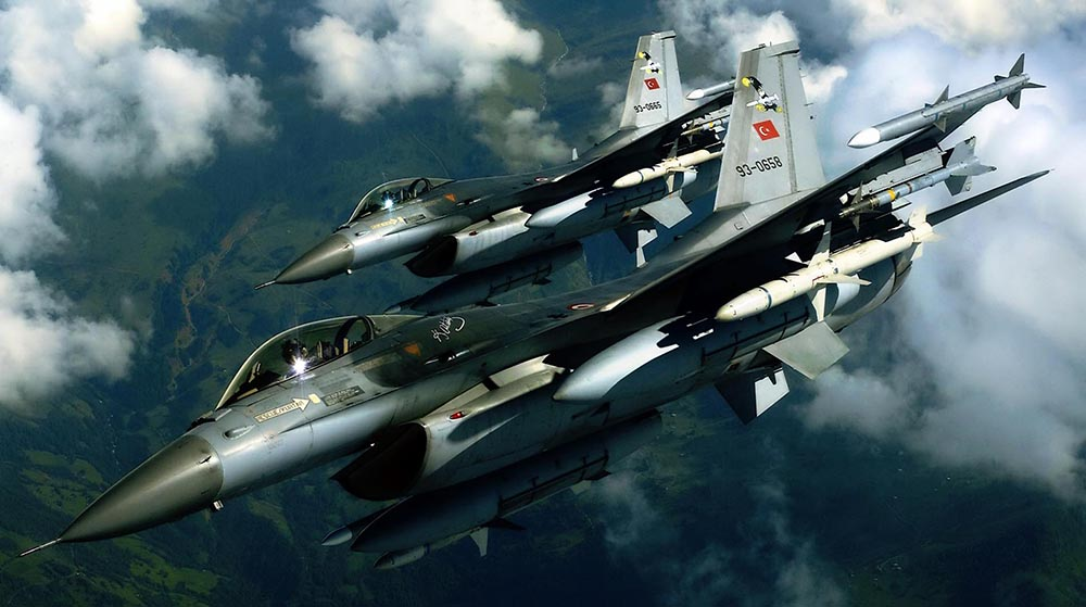 Turkish Jets Run Away after Failed Attempt to Violate Syrian Airspace
