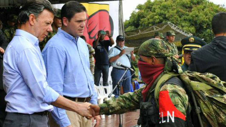 Why does the conflict between the Government and ELN continue?