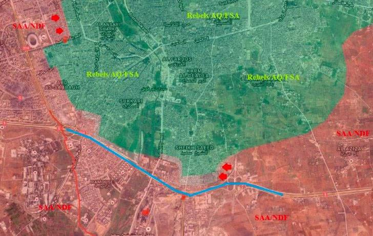 Russian Defense Ministry: 'Moderate Opposition' Mines Corridors for Exit of Civilians from Aleppo