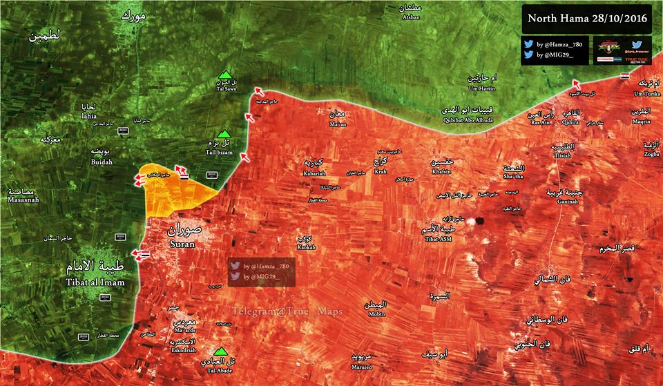 Syrian Army Captures New Points in Northern Hama