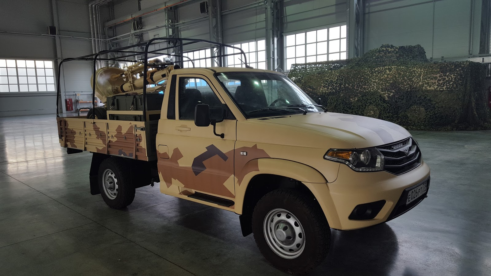 New Details About Usage of Russian-Made UAZ Patriot Technical Vehicles on Syrian Battlefield