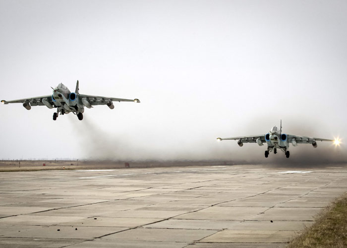 Syrian Air Force Pounds Terrorists in Hama and Idlib