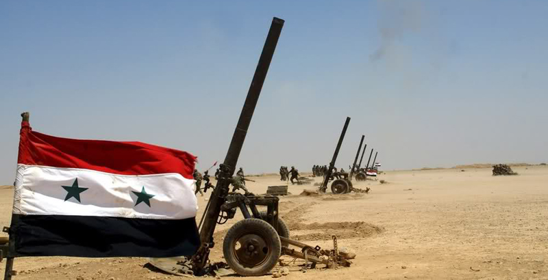 Syrian Army Uses Giant Mortars Against Terrorists (Video)