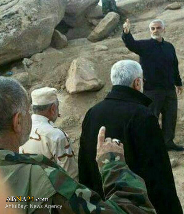 Iran IRGC Quds Force leader Qassem Suleimani Coordinates Shia Militia in Mosul Operation - Report
