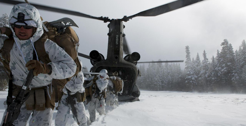 US to Deploy Marines on Russian Border