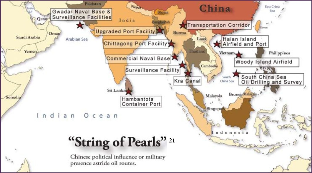 China's 'String of Pearls' Project