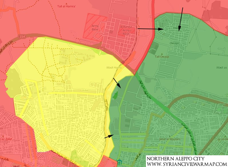 Militants Withdrawing from Awijah Neighborhood of Aleppo City - Reports
