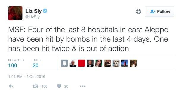 'Last Hospital' in Aleppo City: War Propaganda over Syria Hits New Levels