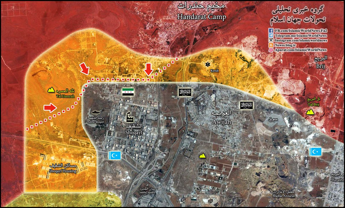 Map Update: Syrian Army Advances in Northern Aleppo