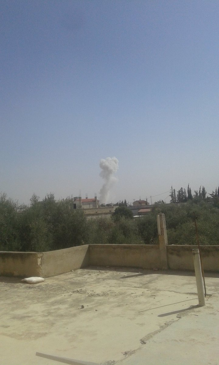Russian Aerospace Forces Bombed Base of US-backed Militants in Northern Hama (Photos)
