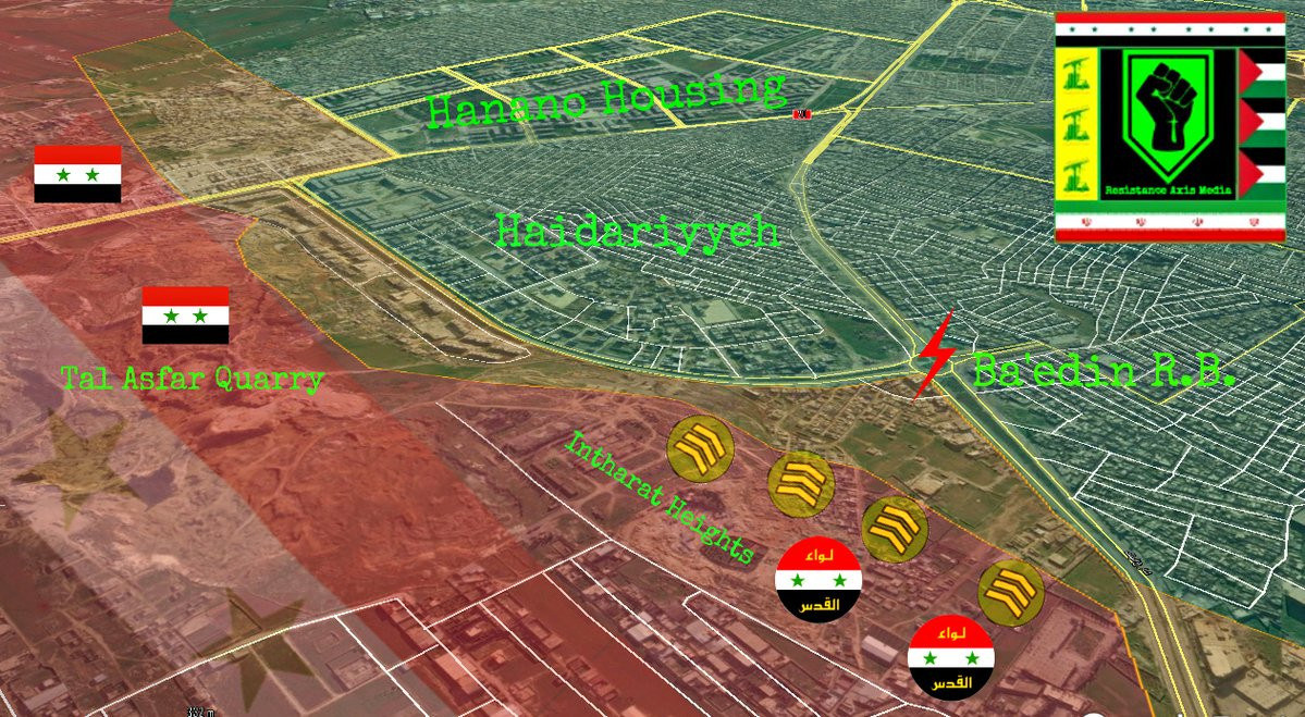 Overview of Military Situation in Aleppo City on October 16, 2016