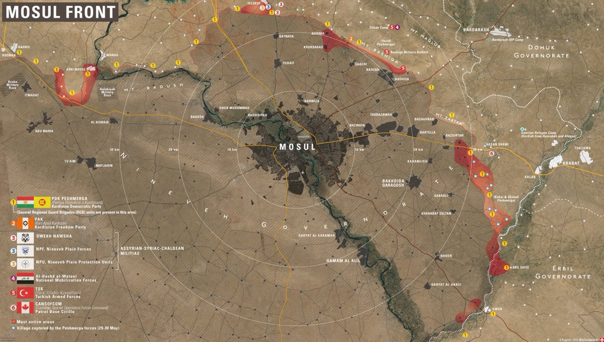 Operation to Liberate Mosul from ISIS: Prospects and Problems