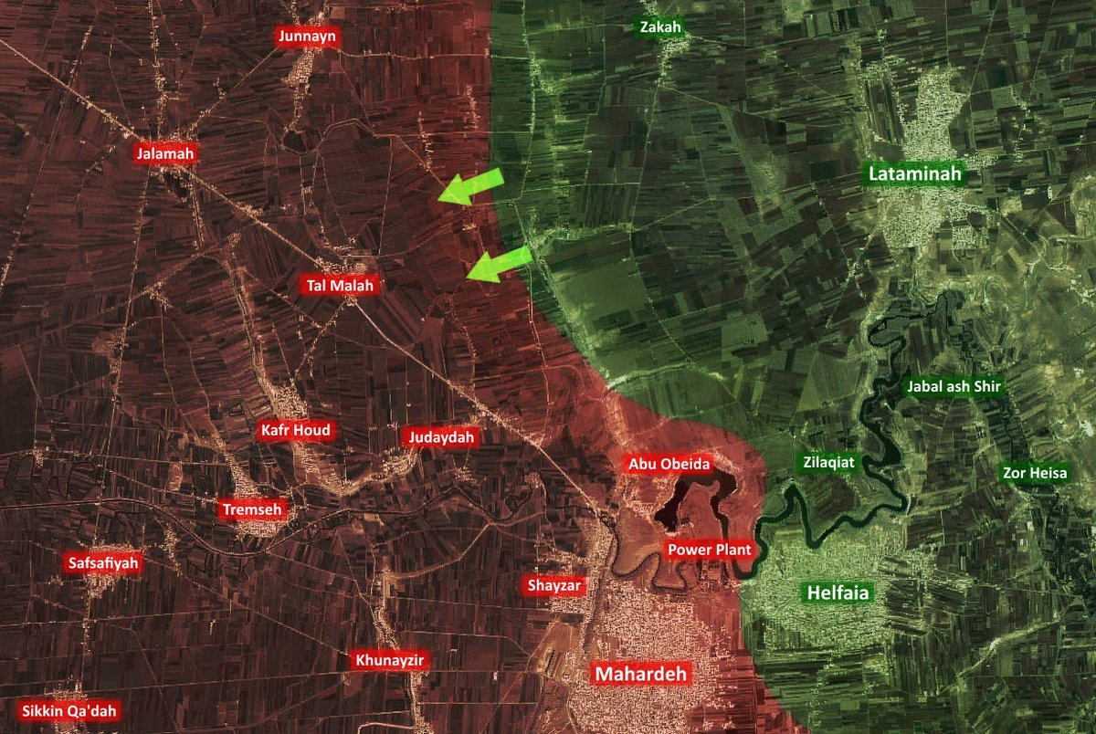 Syrian Army Repells Major Terrorist Offensive on Tal Malah in Hama
