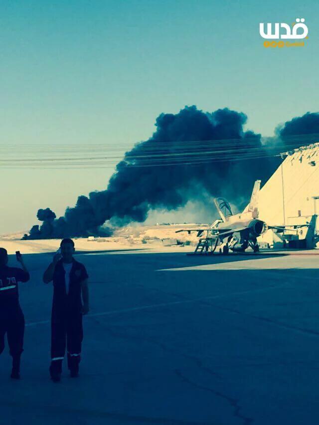 Israeli Fighter Jet Crashes after Striking Gaza, Pilot killed (Video, Photos)