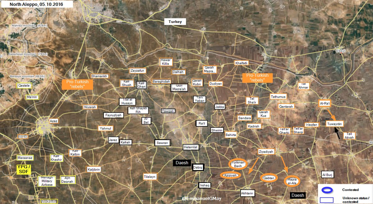 Ankara-led Forces Take Control of 2 More Vilalges in Northern Aleppo