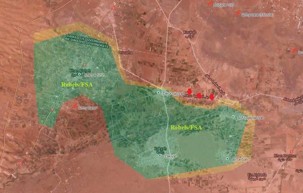 Syrian Army Advancing in Damascus' Western Ghouta, Cuts Off Strategic Road