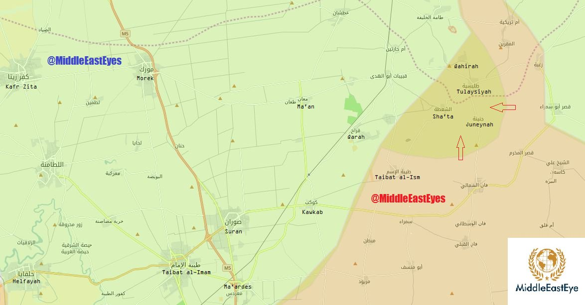 Terrorists' Defenses Collapsing in Hama. Government Forces Retatake Significant Areas