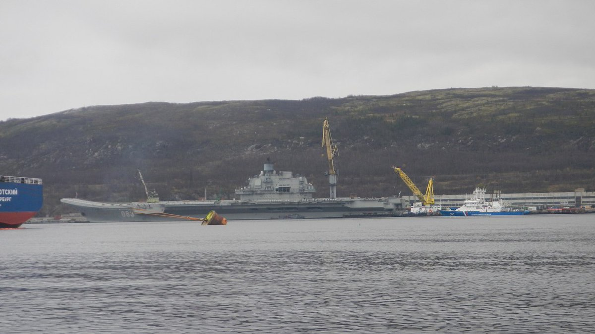 Admiral Kuznetsov Aircraft Carrier Is in Final Preparation for Combat Task in Syria (Photos)